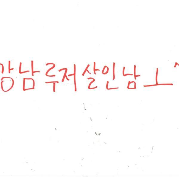 강남역 추모메세지 서울시민청 #369